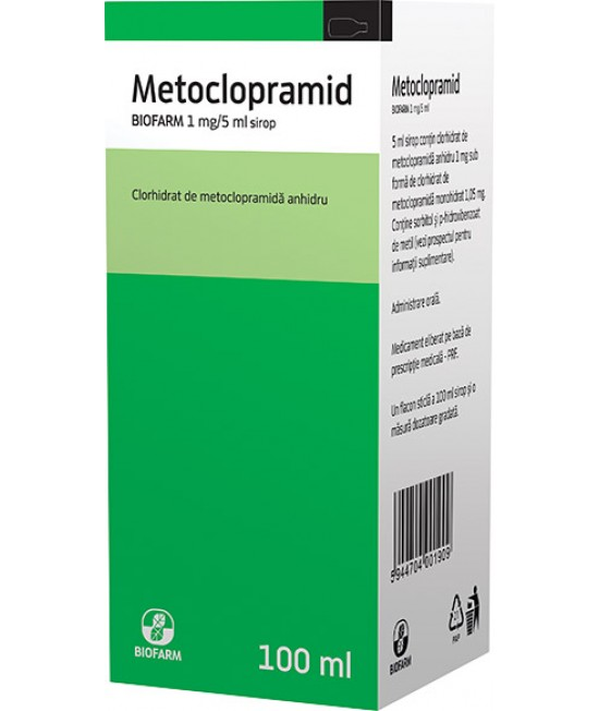 Metoclopramid sirop, 100 ml