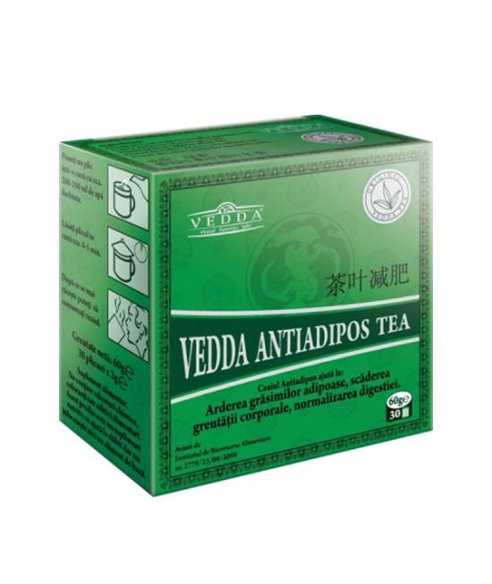 Ceai Antiadipos Tea Verde, 30 Plicuri