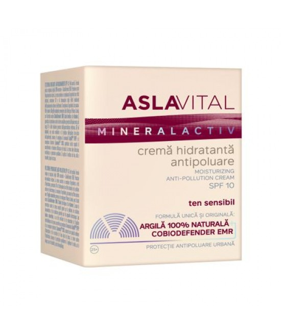 ASLAVITAL CREMA HIDRATANTA ANTIPOLUARE SPF10 50 ML