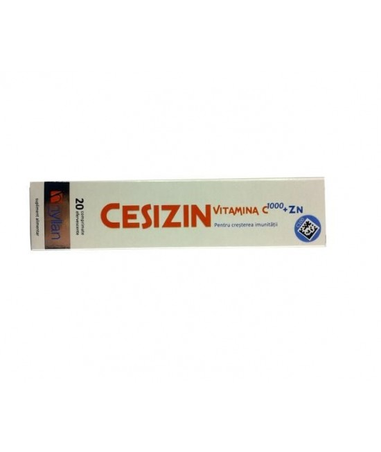 CESIZIN 20 COMPRIMATE EFERVESCENTE