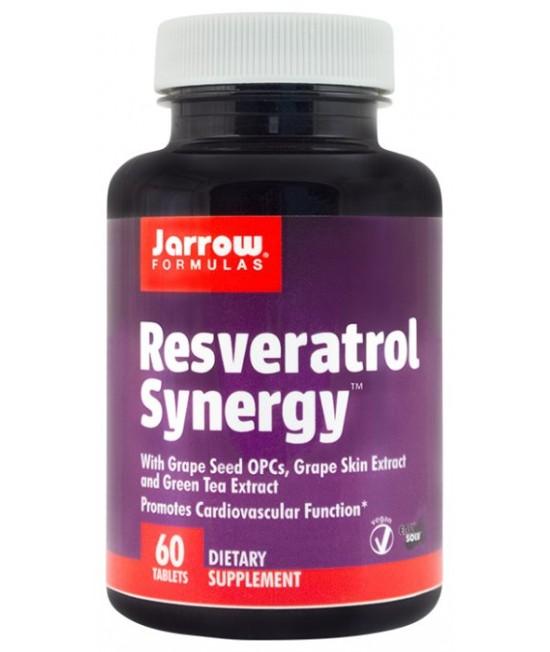 SECOM RESVERATROL SYNERGY 200MG X60CPR