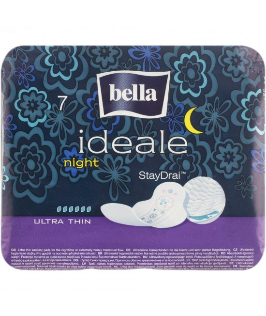 TAMPOANE BELLA IDEALE ULTRA NIGHT, 7 BUC