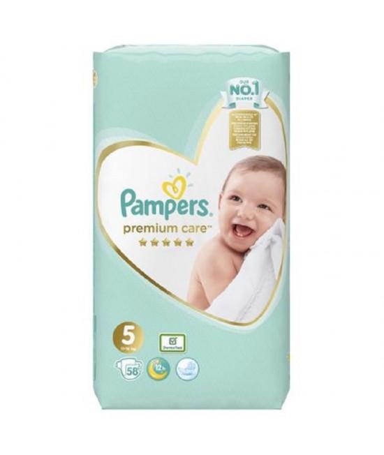 Pampers Premium Care Nr.5, 11-16 Kg, 58 bucati