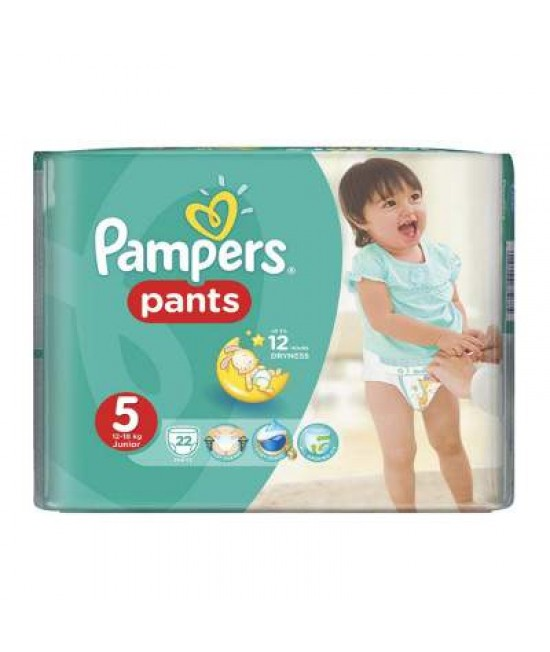 PAMPERS NR.5 PANTS (CHILOT) ACTIVE BABY 12-18 KG x 22 BUCATI