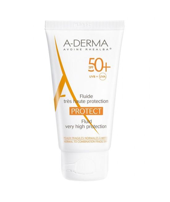 Aderma Protect Fluid SPF 50+, 40 ml