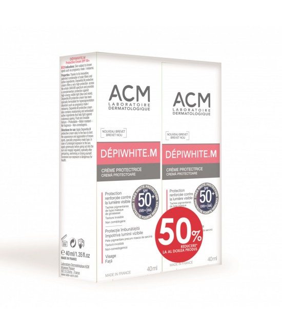 ACM DEPIWHITE M, 40 ML  1+50% DIN AL DOILEA