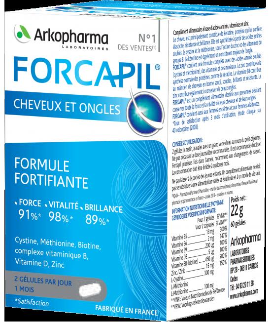 FORCAPIL X 60 CAPSULE