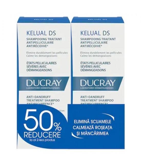 DUCRAY KELUAL DS 100 ML 1+1 50% REDUCERE DIN AL DOILEA