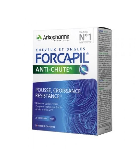 Forcapil anticaderea parului, 30 comprimate