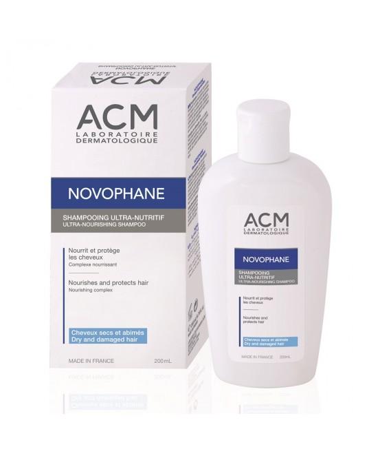 ACM NOVOPHANE SAMPON NUTRITIV PAR USCAT 200ML