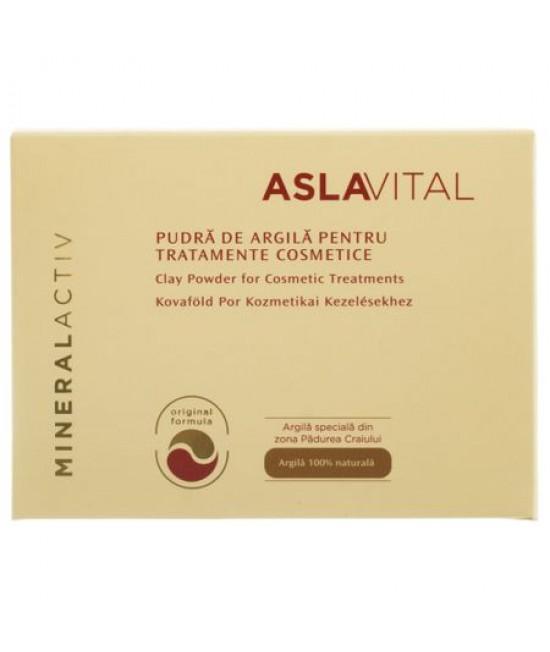 ASLAVITAL  MINERALACTIV PUDRA ARGILA TRATAMENT COSMETIC