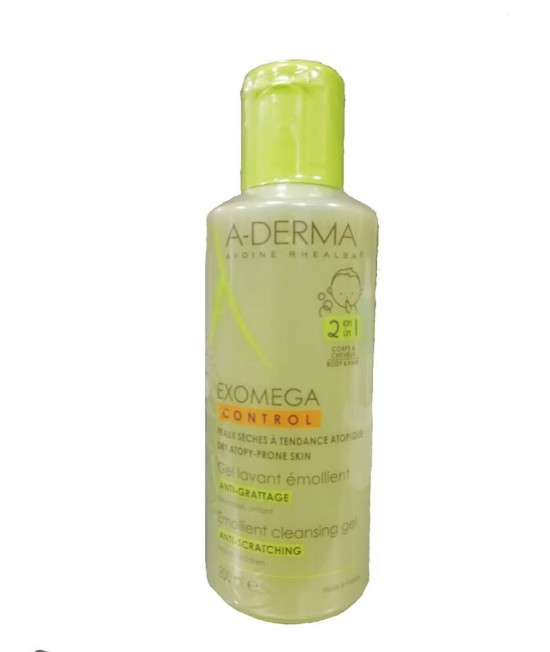 ADERMA EXOMEGA CONTROL GEL 2 IN 1, 200 ML
