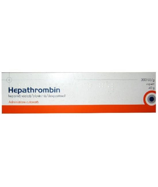 HEPATHROMBIN 300 UI/g x 1 UNGUENT 30 UI/g