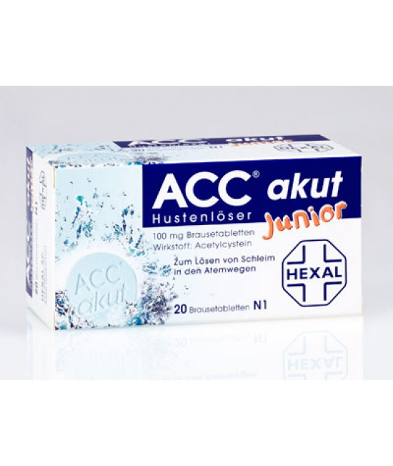ACC JUNIOR 100 mg x 20 PULB. PT. SOL. ORALA 100mg