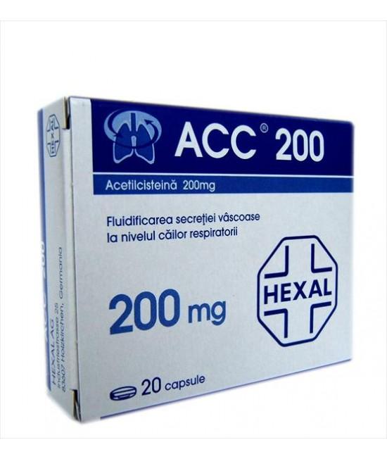 ACC 200 mg CAPSULE x 20 CAPS. 200mg