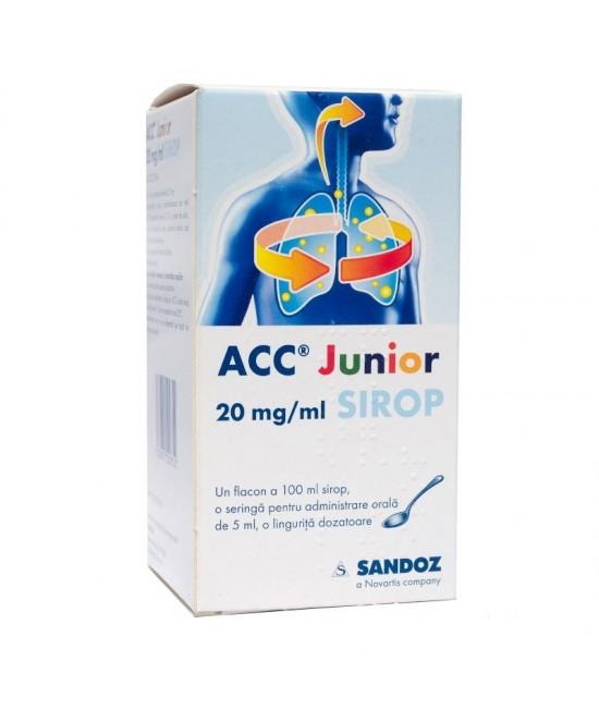 ACC Junior 20 mg / ml sirop
