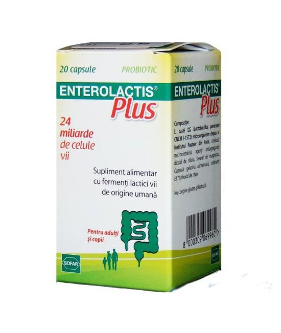 ENTEROLACTIS PLUS x 20 CPS