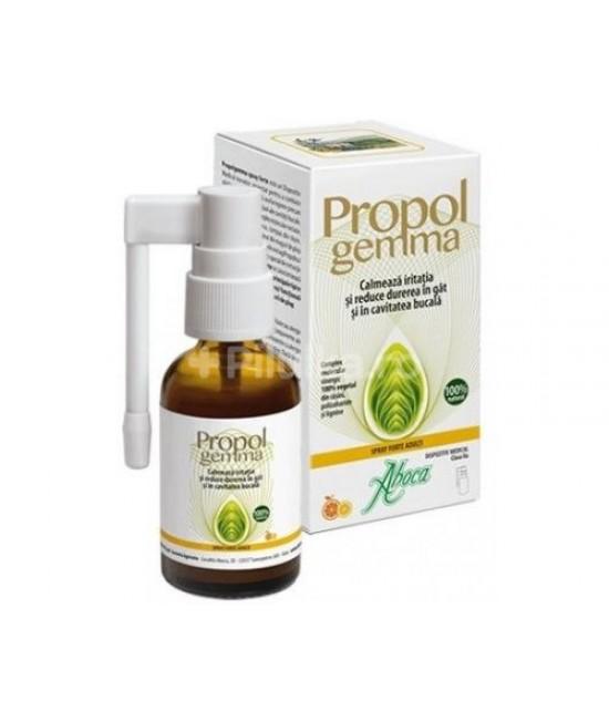 Aboca Propolgemma spray adulti cu alcool, 30 ml