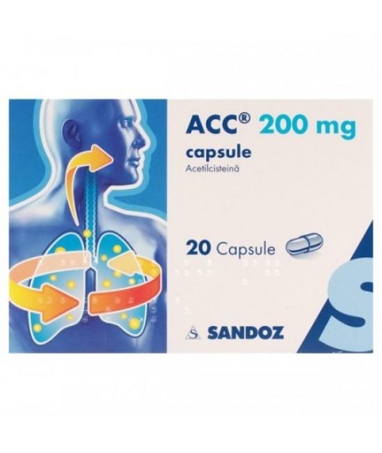ACC 200 mg, 20 capsule