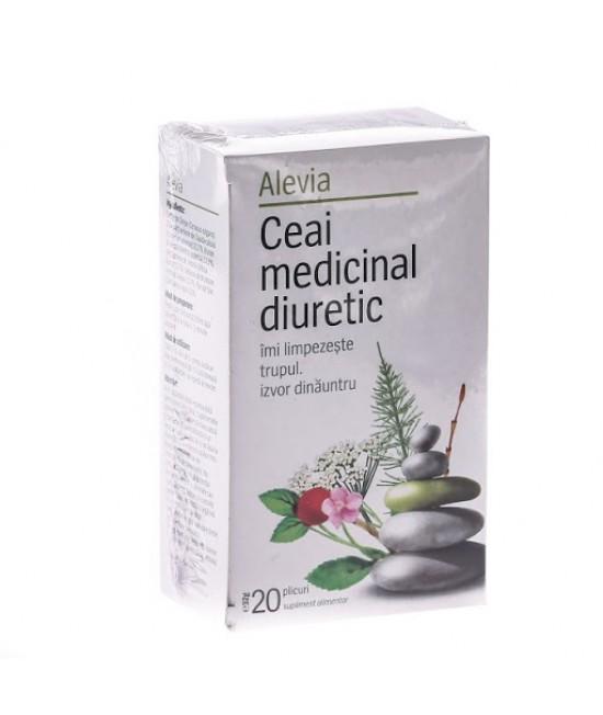 Alevia Ceai medicinal diuretic, 20 plicuri