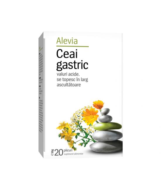 Alevia Ceai gastric, 20 plicuri