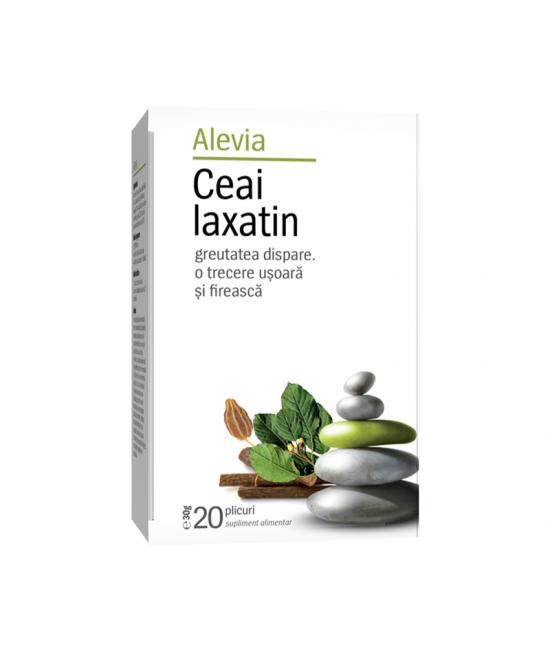 Alevia Ceai laxatin, 20 plicuri