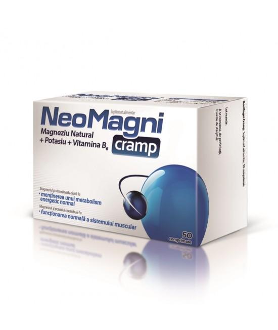 NeoMagni Cramp, 50 Comprimate