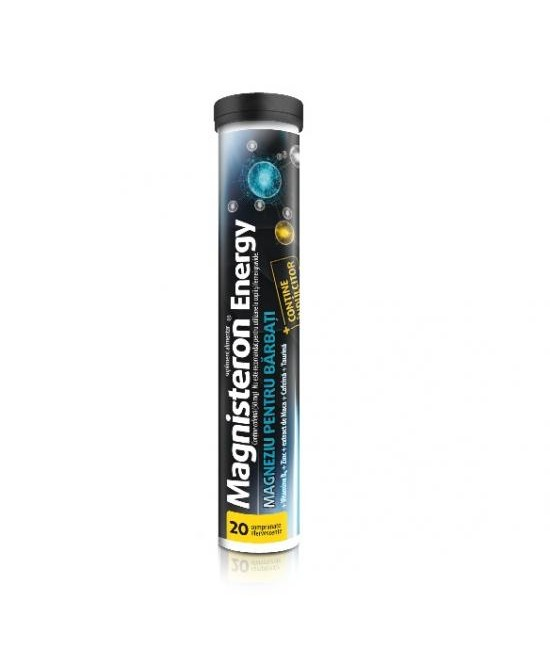 Magnisteron Energy, 20 comprimate efervescente