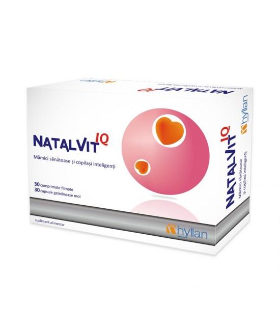 NATALVIT IQ 30 COMPRIMATE + 30 CAPSULE