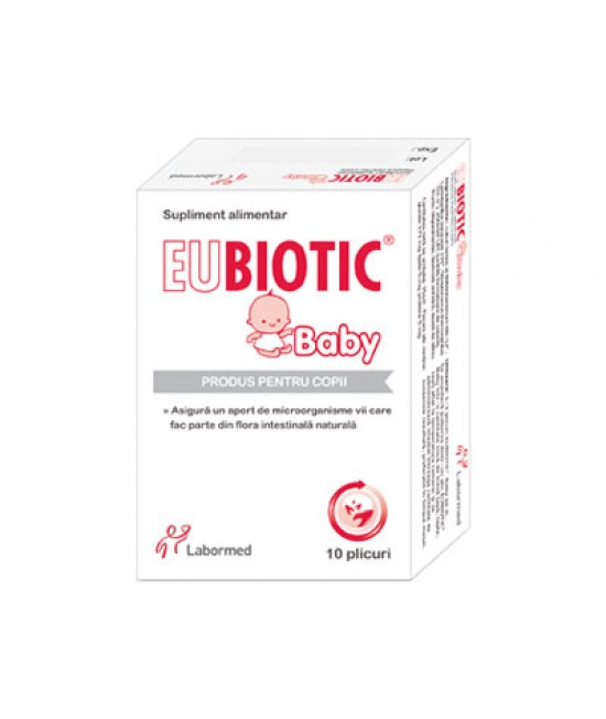 EUBIOTIC BABY 3.5G x 10 plicuri