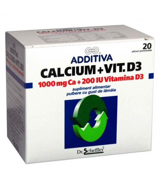 ADDITIVA CALCIU +D3