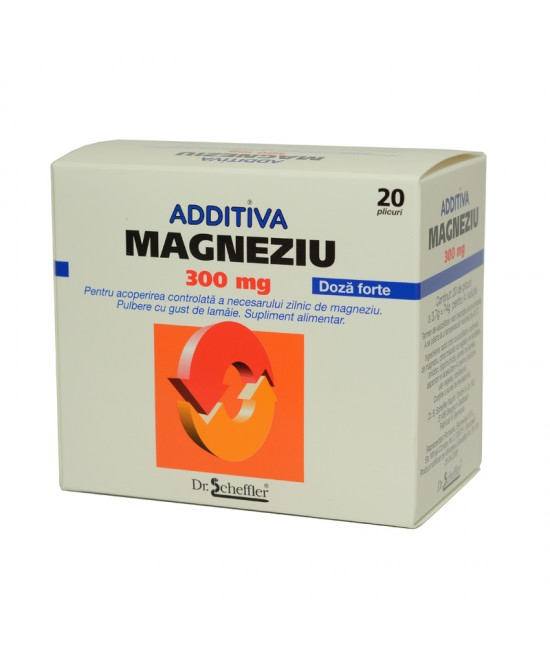 ADDITIVA MAGNEZIU 20 PLICURI